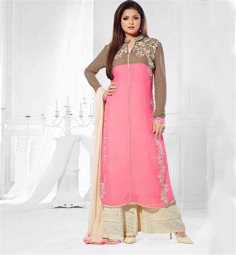 plazo dress long kurti dress with palazzo salwar worn by drashti dhami