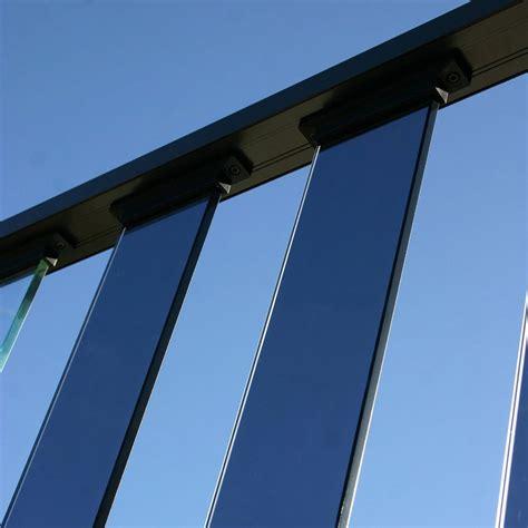 glass banister kits wahoo glass baluster kit tinted residential wahoo decks