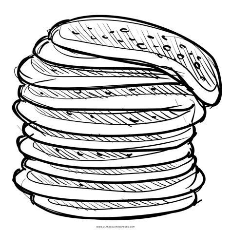 pancake coloring pages stack of pancakes coloring page ultra coloring pages