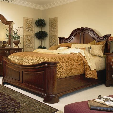 Mattress Discounters Towson by King Traditional Mansion Bed By American Drew Wolf And