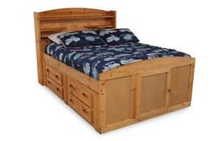 Platform Storage Bed Twin - bedroom wood twin captains bed design with storage for kids room design
