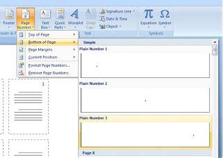 cara membuat nomor halaman 2 kolom cara membuat dan mengatur nomor halaman di word gividia