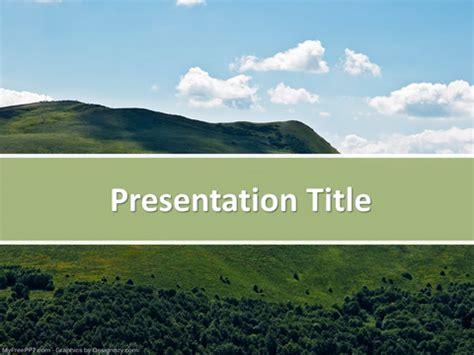 powerpoint templates free mountains free mountain nature powerpoint template download free