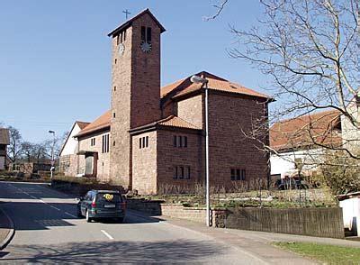 robern odenwald odenwald madonnenradweg kirche in robern