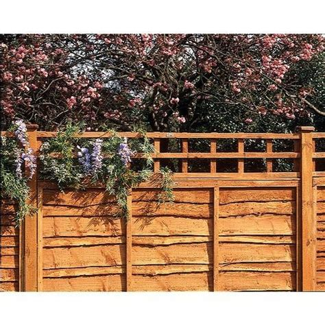 Garden Trellis Tops Fence Top Trellis Square Lattice 6x1ft Trellis