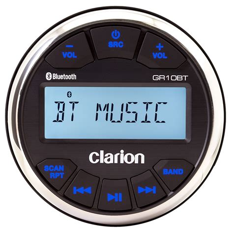 rock the boat marine stereo get 2018 s best deal on clarion gr10bt marine stereo