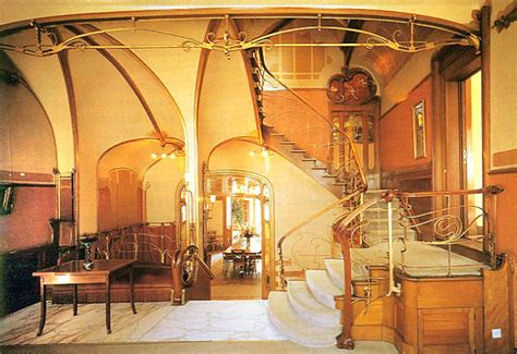 tassel house interior brussels a look at victor horta