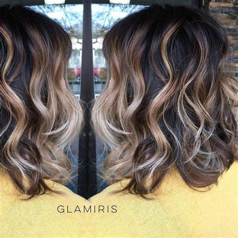 sculptured dimensional hair cut sassy dimensional textured lob base balayage sombre