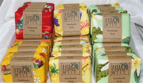 hawaiian handmade soap
