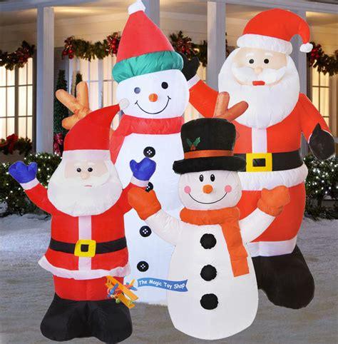 Decoration Santa Snowman large santa snowman outdoor airblown