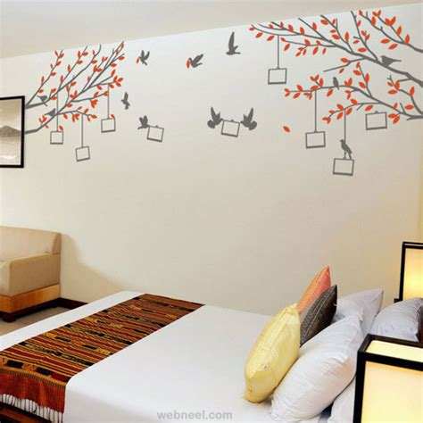 Wall Sticker Stiker Dinding 30 Beautiful Wall Ideas And Diy Wall Paintings For