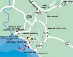 golden resort krabi map map location krabi resort ao nang a thai traditional style resort in ao nang with a