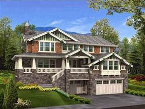 hillside garage plans hillside house plans ayanahouse