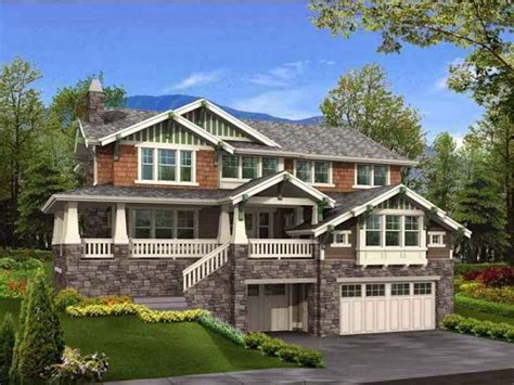 hillside home designs hillside house plans ayanahouse