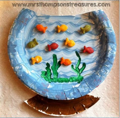 Paper Fish Bowl Craft - best 25 fishbowl craft ideas on theme
