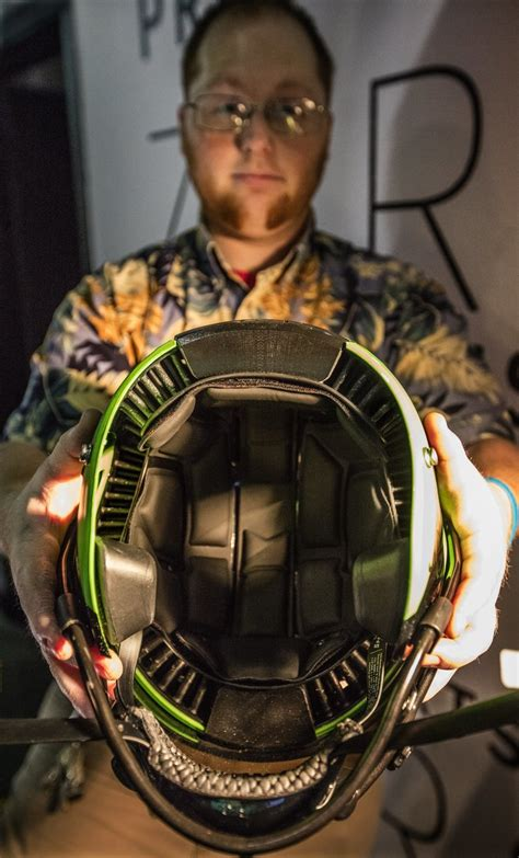 how seattle startup vicis created the zero1 the helmet building a better football helmet seattle startup aims to