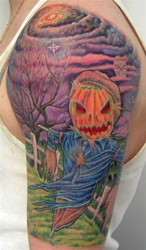 pumpkin tattoo designs 25 evil pumpkin tattoos scary enough