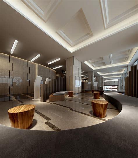 Modern Business Interiors modern business center interior 3d model max cgtrader