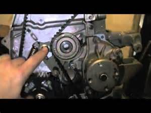 Isuzu Diesel Timing Isuzu Timing Belt Installation