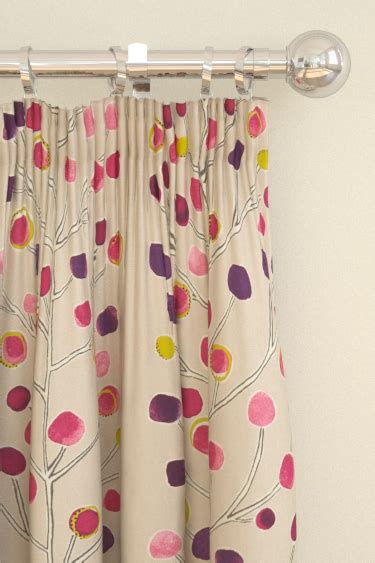scion berry curtains berry tree by scion wallpaper direct