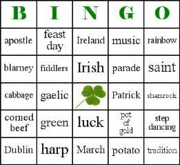 bingo template word casa larrate