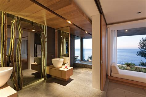 Modern Bathroom And Bedroom Spectacular Atlantic Seaboard Showpiece By Saota