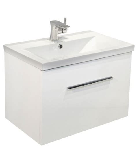 slimline vanity units bathroom furniture white slimline 60cm wall hung vanity unit slimline