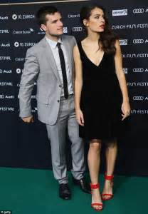 Green Hutch Josh Hutcherson Wraps Arm Round Claudia Traisac At Zurich