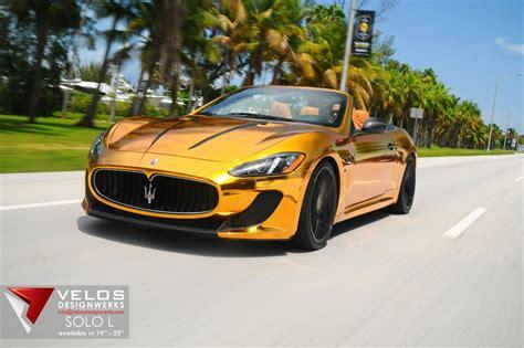 Maserati Grancabrio Mc Price by Lekker Zomers Gouden Maserati Grancabrio Mc Autoblog Nl