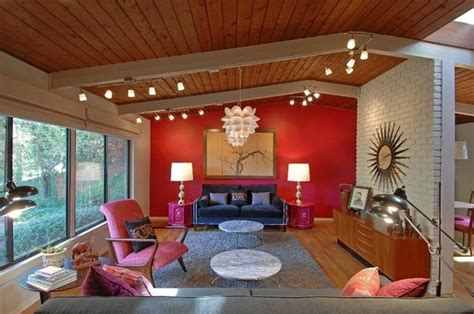 red accent wall in living room 24 gorgeous living rooms with accent walls page 5 of 5