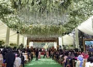 Tenda Wedding cyber ibas wedding photos wedding the children pesiden of indonesia