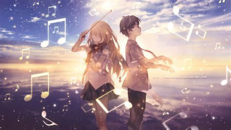 wallpaper hd anime shigatsu wa kimi no uso wallpaper shigatsu wa kimi no uso by andyyaboku on