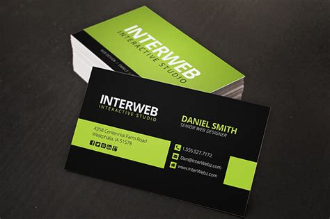 template website card web designer business card business card templates on