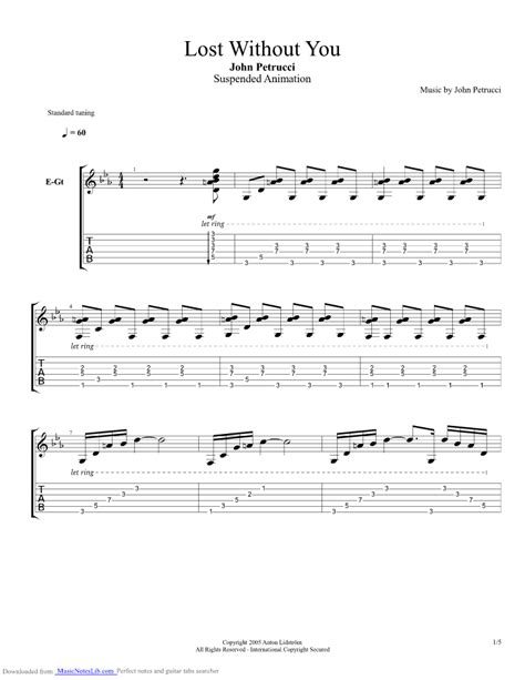 Lost Without You Guitar Chords