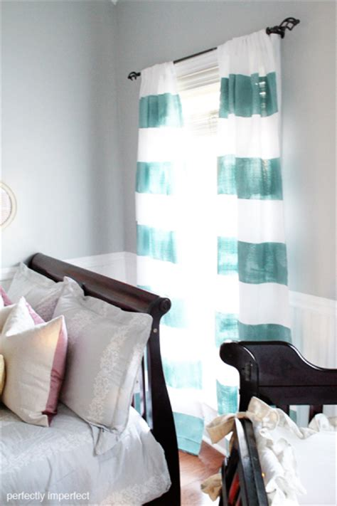 diy painted curtains diy custom window treatments painted and stenciled curtains