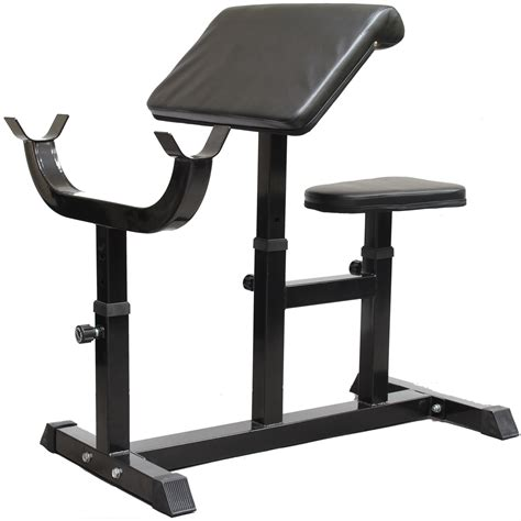 curling bench black preacher curl bench dumbbell bicep tricep exercise
