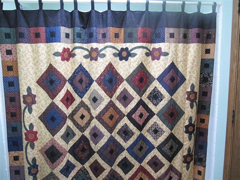 quilt curtains shower curtain throw down quilt chat