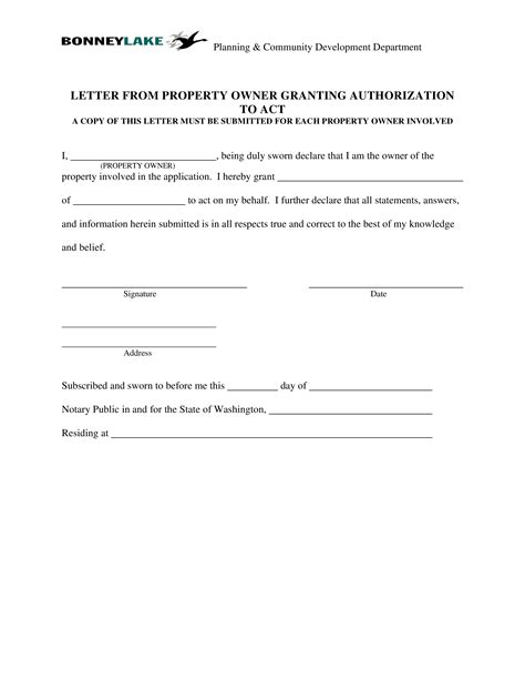 property ownership transfer letter templates