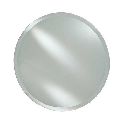 round mirror medicine afina 18 quot radiance round wall mount mirror beveled rm