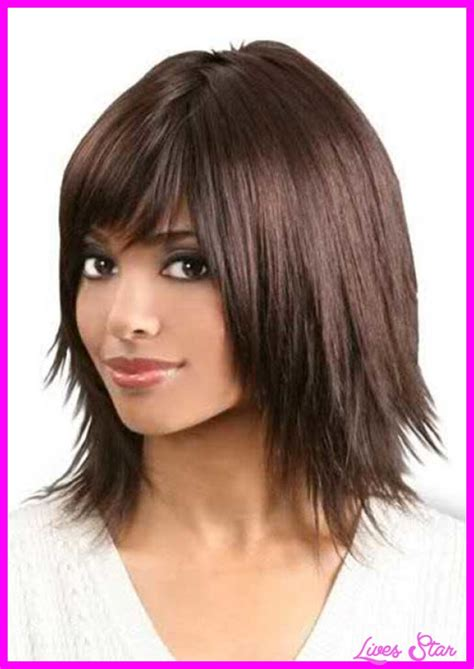 black hair razor cut bob long razored layered haircuts livesstar com