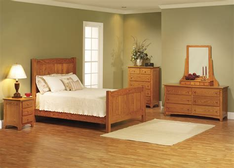 Bedroom Wood Furniture Photos Elizabeth Lockwood Solid Oak Shaker Bedroom Set Bedroom Wood Furniture Designs