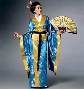 butterick 6267 kimono dress obi and belt