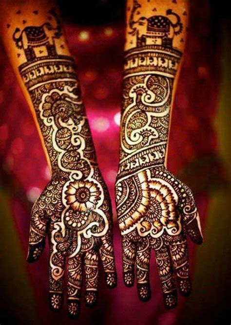 40 Simple and Easy Bridal Mehndi Designs For Your Wedding Day