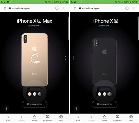 test drive iphone xs xs max with apple s interactive 3d model redmond pie