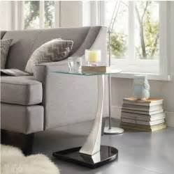 Clear Nesting Tables Modern End Tables Coffee Table Sofa Living Room Furniture
