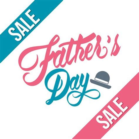 fathers day sale s day sale free vector stock