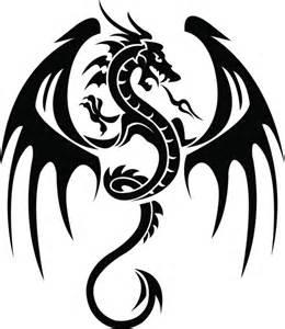 dibujo de dragones para tatuajes todosimple