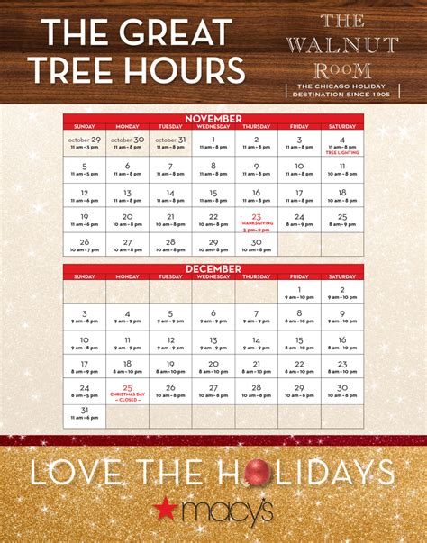 walnut room hours macy s thanksgiving hours 100 images macy s new years day sale stores hours and ads shopping