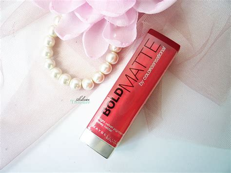 Review Lipstik Maybelline silver treasure on a budget september 2014