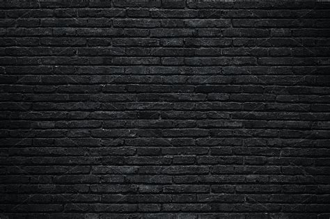 black brick wall black brick wall textures creative market